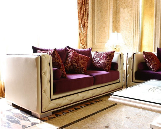 Modern and Contemporary Sofas and Sofa with Chaise Lounges -