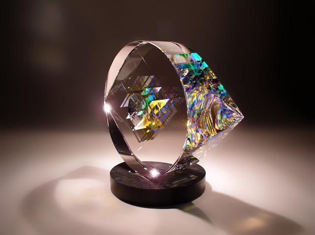 optical eye fine art glass art sculpture by glass artist jack storms. Black Bedroom Furniture Sets. Home Design Ideas