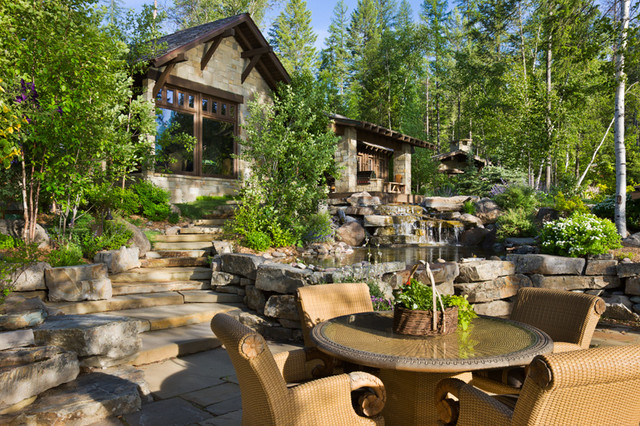 Carver Bay Residence traditional-patio