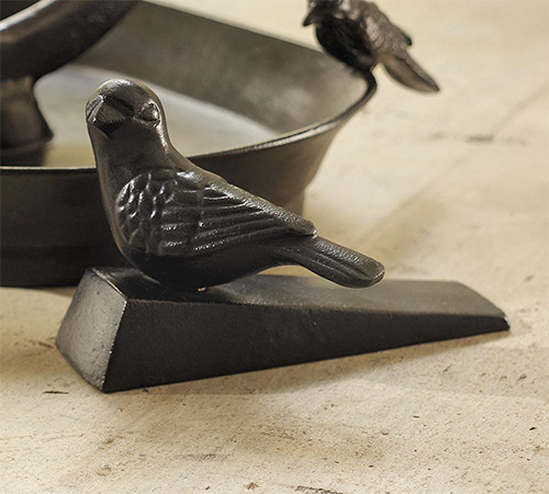 Bird Doorstopper traditional-outdoor-decor