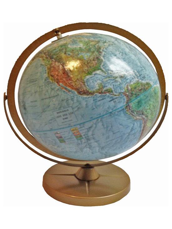 World Globe - Midcentury Adjustable Replogle Land & Sea Globe.