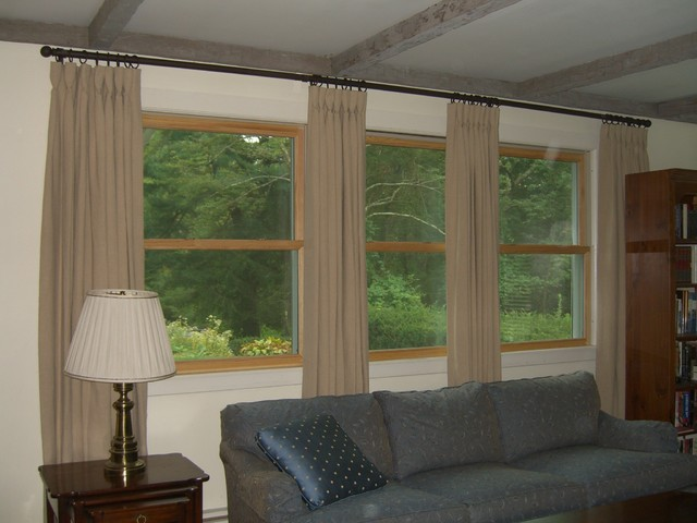Draperies and Shades curtains