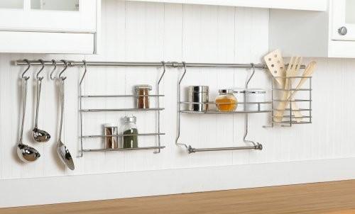 ClosetMaid 3059 Kitchen Organizer Rail System Eclectic