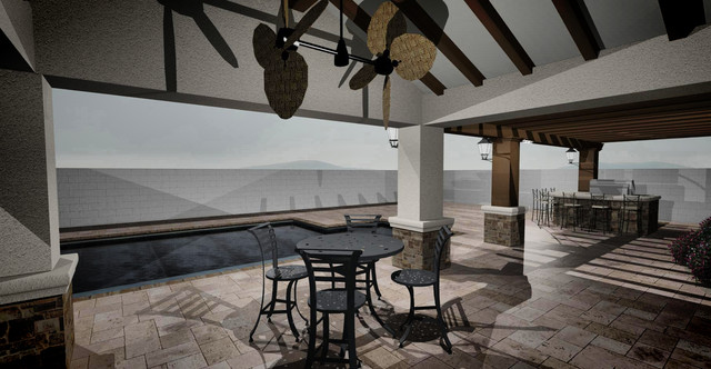 Exterior Patio Cover traditional-rendering