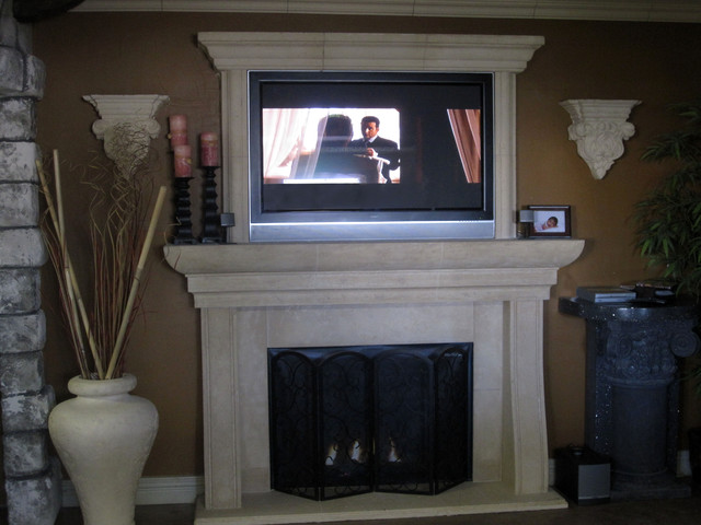 fireplace mantel indoor fireplaces los angeles by