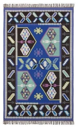 Travelers' Kilim Rug eclectic-rugs