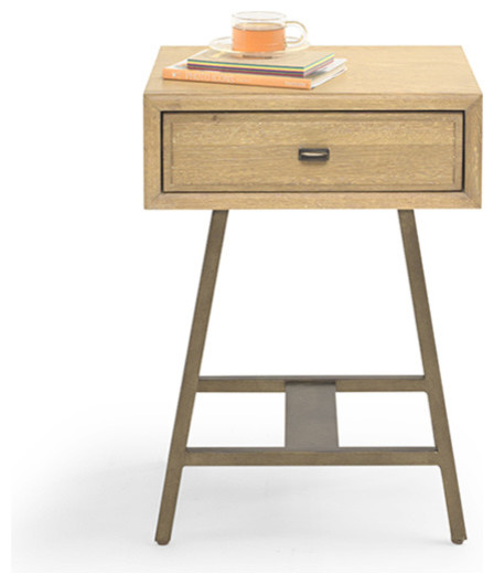 Vintage Style Bedside Table - Modern - Nightstands And Bedside Tables - by Loaf