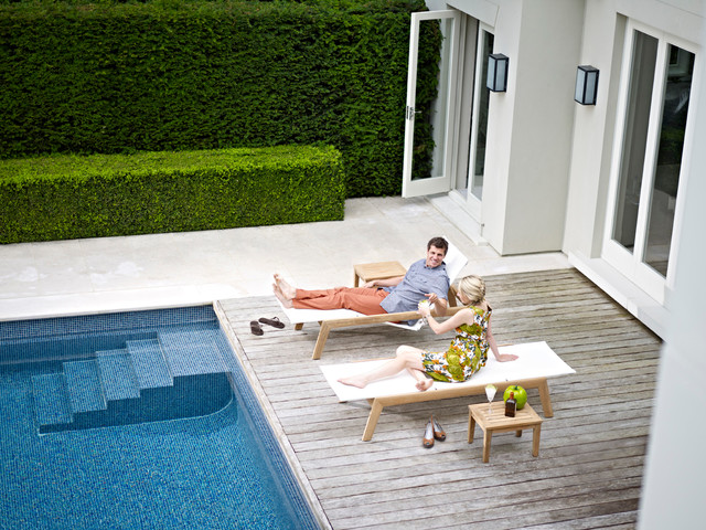 Solana Lounger contemporary-outdoor-chaise-lounges
