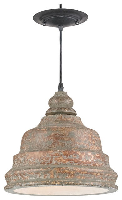 Lulworth Pendant Farmhouse Pendant Lighting by Currey & pany Inc