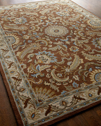 Mahima Medallion Runner, 26 x 8 traditional rugs