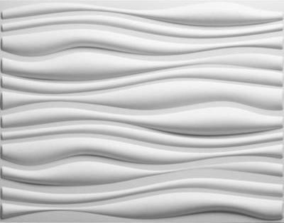 Panels: 32 sq. ft. 3-Dimensional Plant Fibers Wainscot Wall Panels EKB