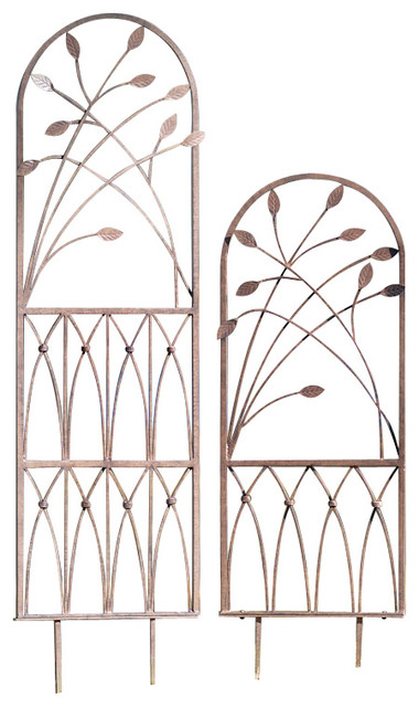H Potter Aspen Trellis Size, Large traditional-outdoor-decor