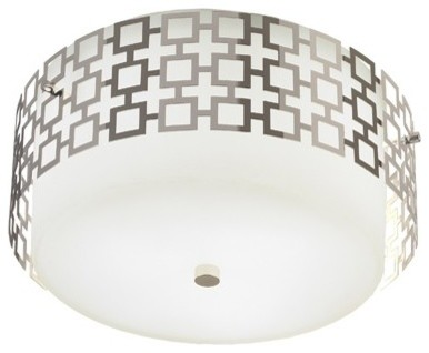 Jonathan Adler Parker Flush Mount Ceiling Light - bathroom