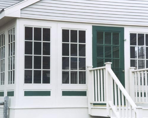 Easy Change Combination Doors traditional porch
