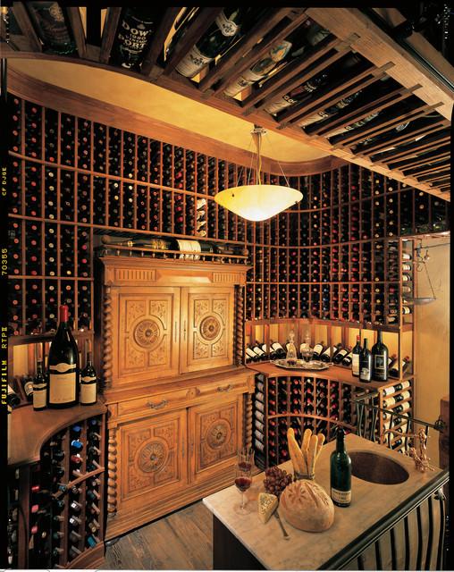 2nd Floor Wine Cellar Traditional Wine Cellar San