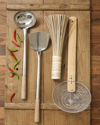 Traditional Wok Tool Set asian kitchen tools