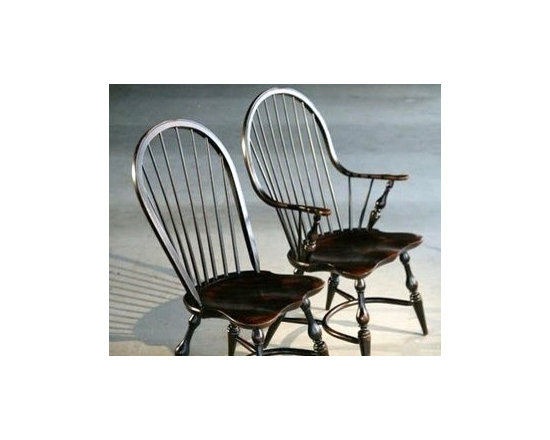 Elegant  English Windsor Dining Chair - Made by http://www.ecustomfinishes.com