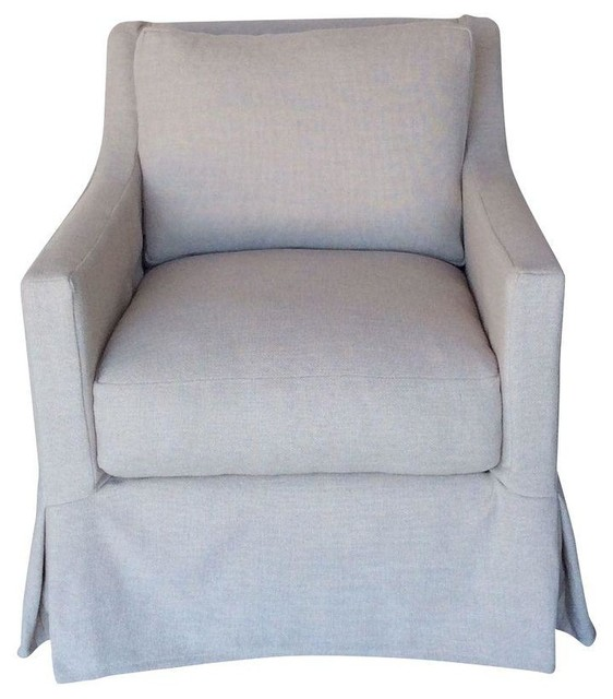 Accent Chair Slipcover Slim Track Arm Slipcover Chair
