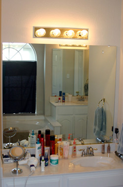 Master Bath upgrade eclectic
