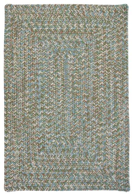 Indoor/Outdoor Corsica, Seagrass Rug, 3'X5' contemporary-outdoor-rugs