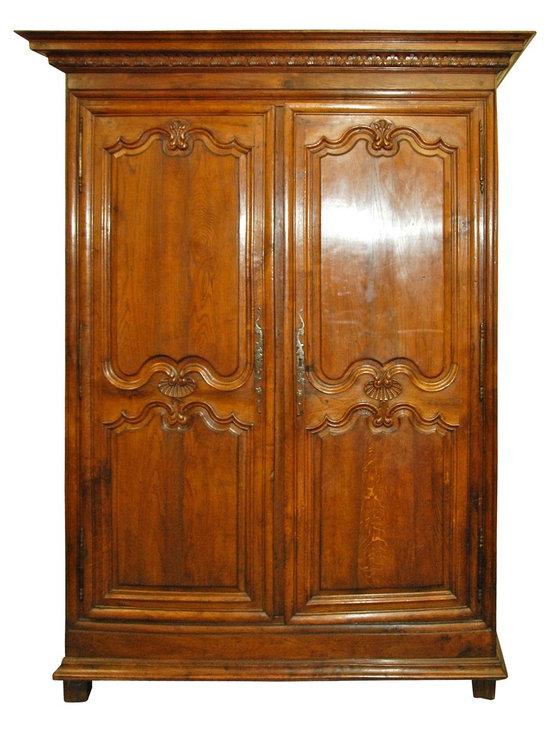 19th Century Oak Armoire -