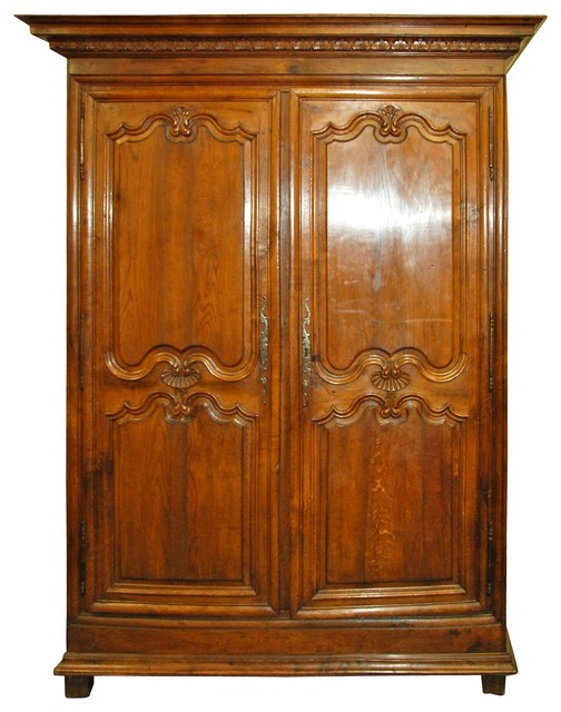 19th Century Oak Armoire