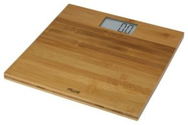 Digital Bamboo Scale Large LCD modern-bathroom-scales