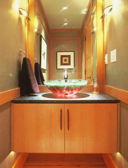 Snoqualmie Valley contemporary-bathroom
