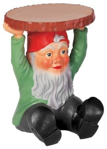 Gnomes by Kartell modern-garden-statues-and-yard-art