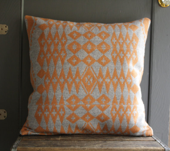 Eclectic Pillows : Handmade Pendleton Wool Pillow Cover by Little Byrd Vintage - Eclectic - Decorative Pillows - by ...