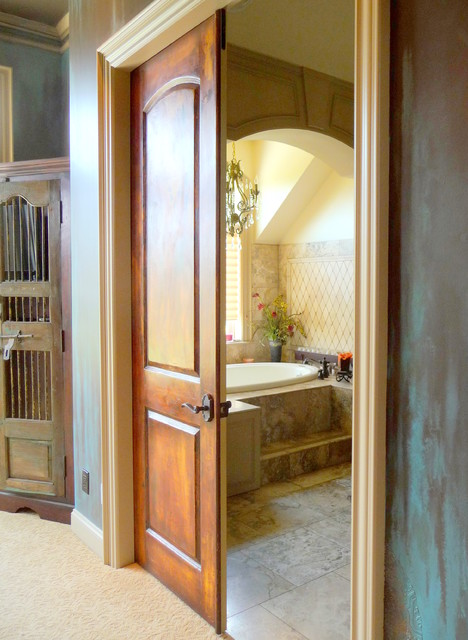 Faux Plastered Doors Interior Doors Portland By Johanna Annable Old World Fine Artist