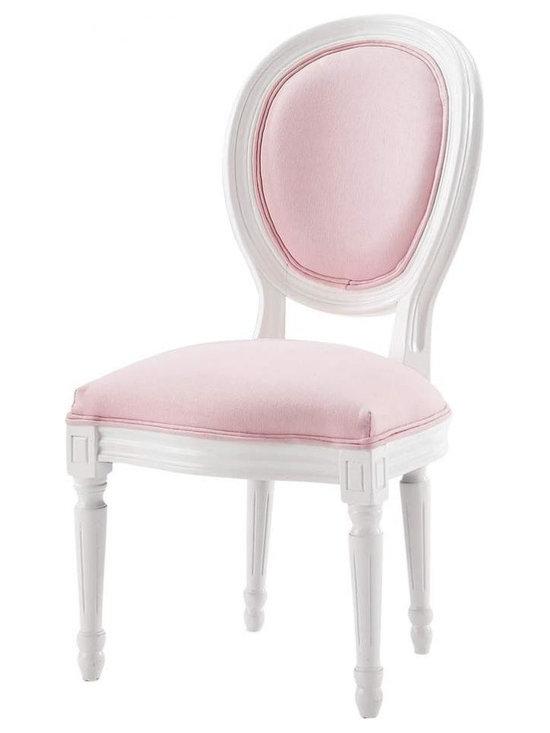 Children's chair Pink Louis -