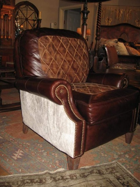 western cowboy and snooty cowgirl furniture traditional living room