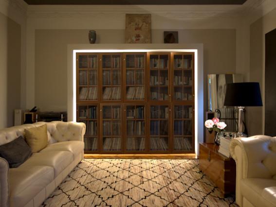 Apartamento Muntaner contemporary-living-room