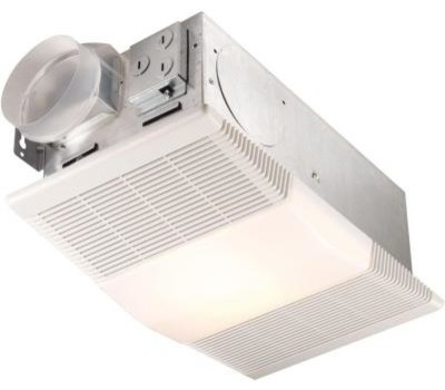 ... NuTone Exhaust Fan. 70 CFM Ceiling Exhaust Fan with Light and 1300-Wa