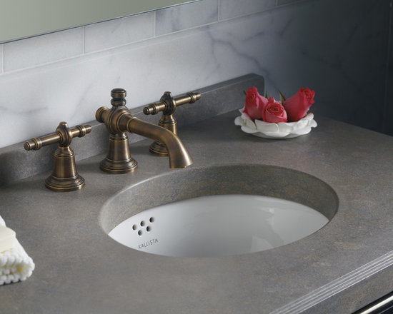Michael S Smith Undercounter Basin - Designed with sleek, clean lines, the Michael S Smith Undercounter Basin blends itself well into traditional and contemporary bathrooms