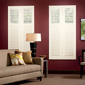 Bali EuroVue Shutters: 2 1/2-inch Louvers contemporary