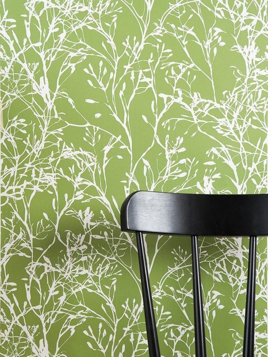 Ferm Living Wild Flower Wallpaper - Ferm Living's Wallpaper is graphic & whimsical adding character, charm and personality to any room. Wallpaper has a striking effect and will without a doubt turn your room into a sanctuary.