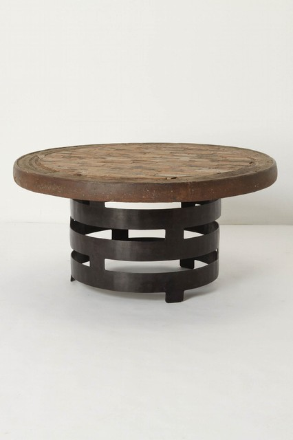 Rotunda Coffee Table - Anthropologie.com modern-coffee-tables