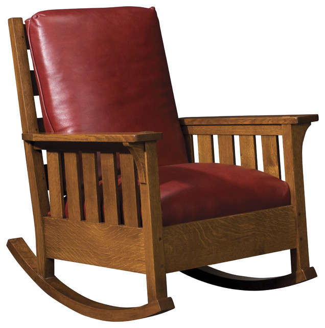 Craftsman Rocking Chair Woodworking Plan