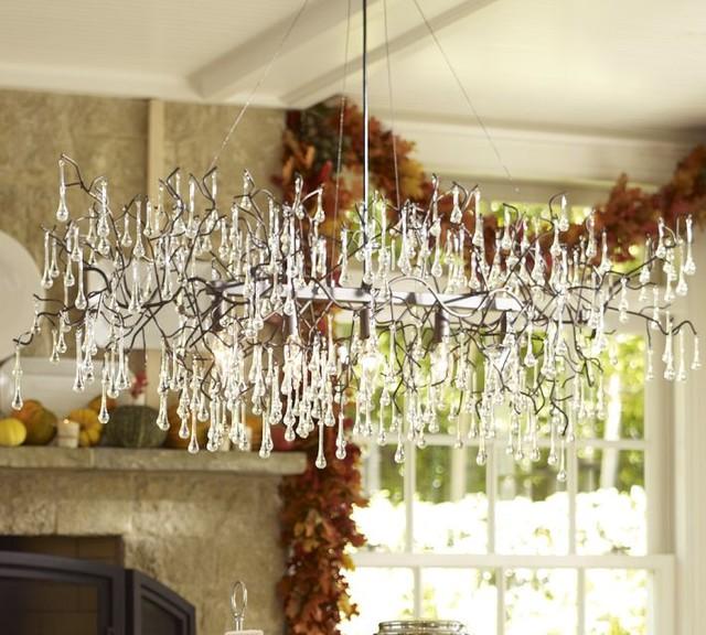 Lucinda Branch Chandelier eclectic-chandeliers