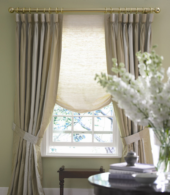 Relaxed Roman Shades