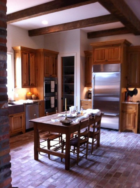 Custom Kitchens By Granince Custom Divisions traditional-kitchen-products