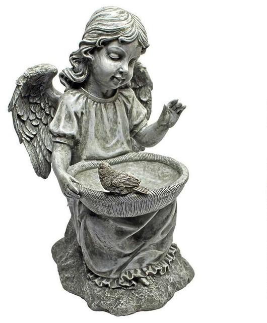 Cherub Child Angel Statue Sculpture Traditional
