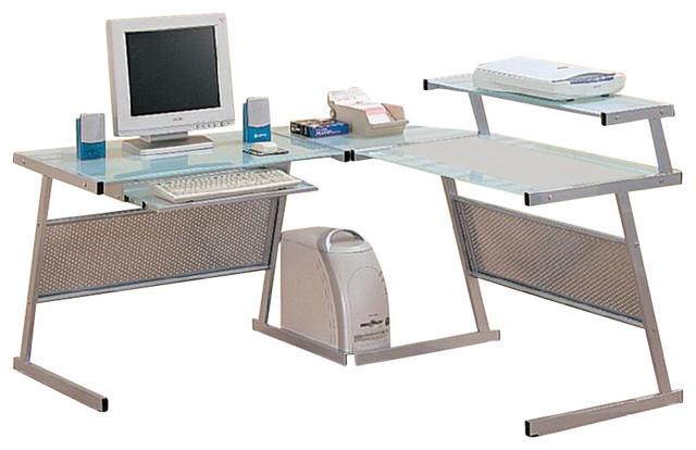 Coaster L Shaped Desk Coaster Yvette Collection