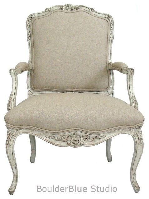French Style Chair - traditional - chairs - houston - by Boulder ...