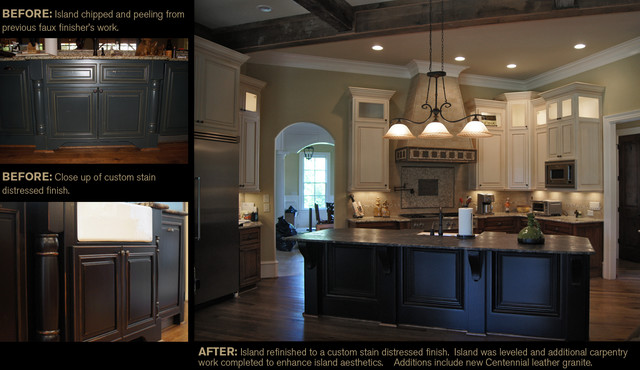"CCFF ""Before and Afters"" traditional-kitchen"
