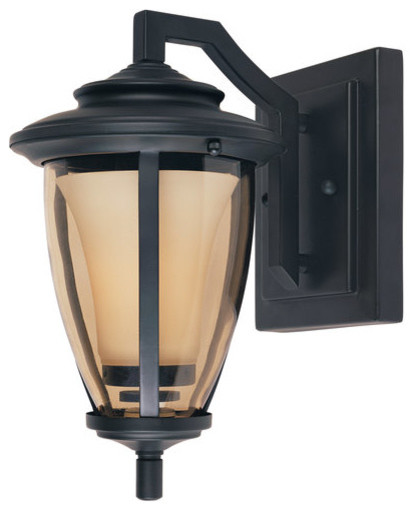 "Designers Fountain 31731 11""W 100 Watt Outdoor Wall Sconce from the Stockholm Co transitional-outdoor-wall-lights-and-sconces"