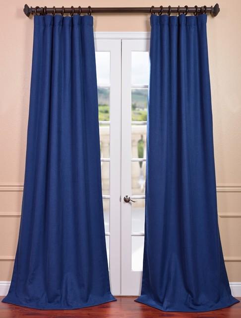 White grommet curtain panels