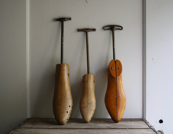 Antique Vintage Wooden Shoe Stretchers by Little Byrd Vintage eclectic ...